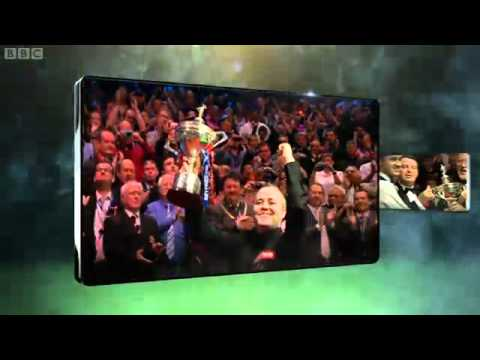 Snooker World Championship 2012 Day 7, STEPHEN HENDRY vs JOHN HIGGINS OPENING
