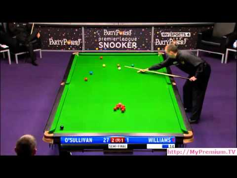 2011 Premier League Snooker - Semifinal - O'Sullivan vs. Williams - 4 of 7