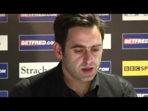 Ronnie meets Robertson in Betfred World Snooker Championships