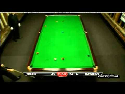 Judd Trump vs Barry Hawkins - 2012 Snooker Championship League - frame 5