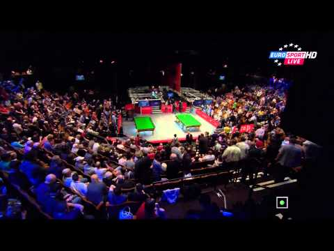 Neil Robertson - Judd Trump. 1/4F. 3/3. 1080p. 2014 World Snooker Championship