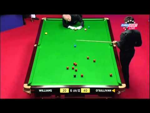 Ronnie O'Sullivan's 10 Attempts On Snooker - WSC 2012
