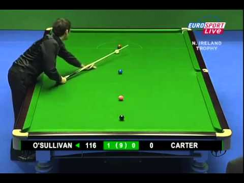 2007 Snooker Northern Ireland Trophy R2 Ronnie O'Sullivan 5 frames - 5 centuries RECORD