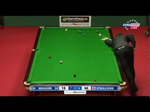 Snooker Legend Ronnie O'Sullivan Bags #23 (2012 German Masters) In Epic Style
