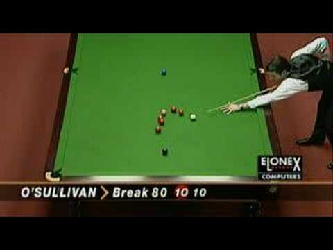The fastest snooker 147 in the history - Ronnie O' Sullivan