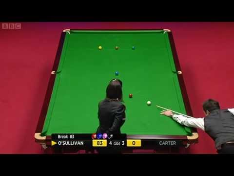 2012 World Snooker Championship Final Ronnie O'Sullivan vs Ali Carter Session 1
