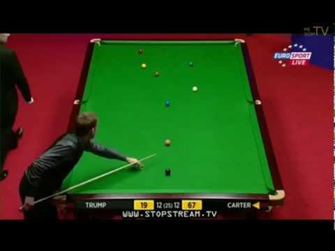 Judd Trump-Ali Carter Deciding Frame(Best Frame of 2012 World Snooker Championship)