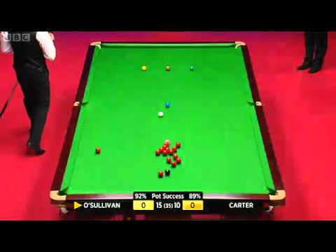 SNOOKER WSC 2012 FINAL , RONNIE O'SULLIVAN vs ALI CARTER FRAME-26 P1