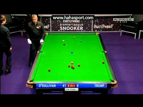 2011 Premier League Snooker - Ronnie O'Sullivan vs. Judd Trump - 1 of 2