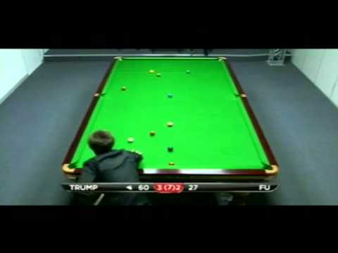 Judd Trump Sinks Marco Fu With A Snooker - 2011 PTC5