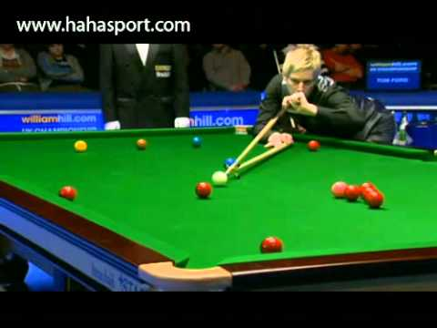 Neil Robertson Exhibition Snooker vs Tom Ford - 2011 UK Championship