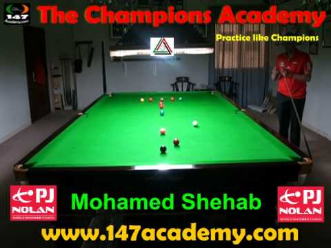 THE WATERFORD BREAK - PJ NOLAN SNOOKER ACADEMY TRAINING ROUTINE