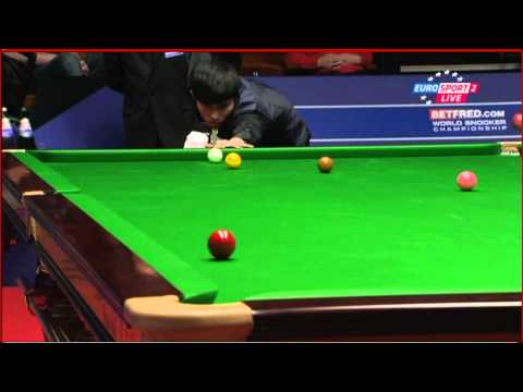Mark Allen vs Cao Yupeng WK Snooker 2012 First Round Frame 16