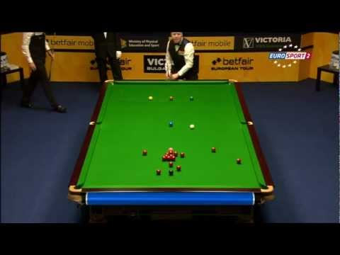 Snooker Judd TRUMP vs Johan HIGGINS. Final Bulgarian Open 2012
