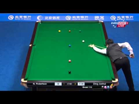 Snooker. CHINA OPEN 2014. Final. Neil ROBERTSON-Ding JUNHUI. 1session
