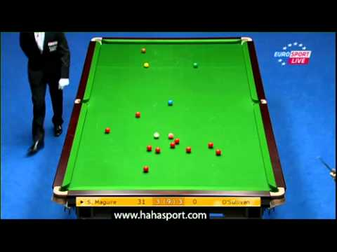 CHINA OPEN SNOOKER 2012 RONNIE O'SULLIVAN vs STEPHEN MAGUIRE Frame 7