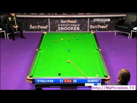 2011 Premier League Snooker - O'Sullivan vs. Murphy - 1 of 6