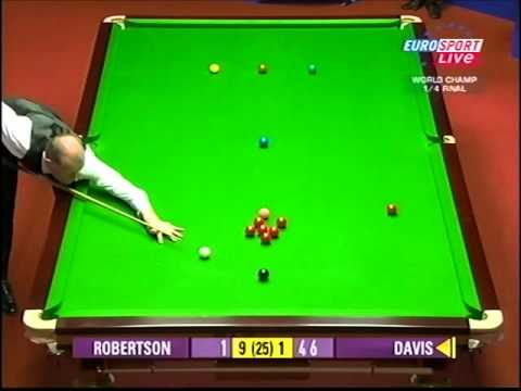Steve Davis makes 128 in World Snooker Championship 2010