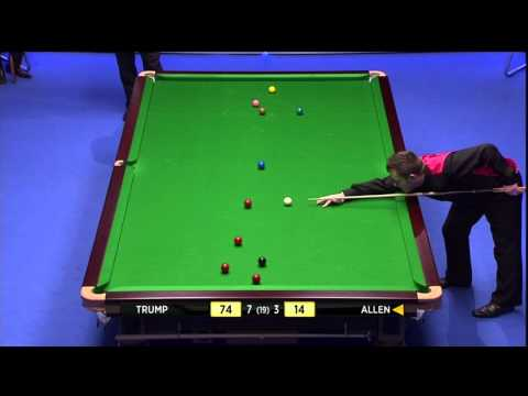 UK Championship Snooker Final 2011 Judd Trump-Mark Allen Frame 11