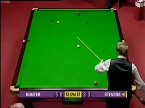 Snooker WC 2004 Matthew Stevens vs Paul Hunter Final Frame.flv