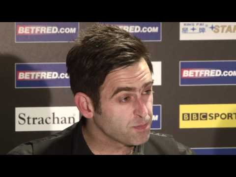 Ronnie O'Sullivan through to the semis at the Betfred World Snooker Championships