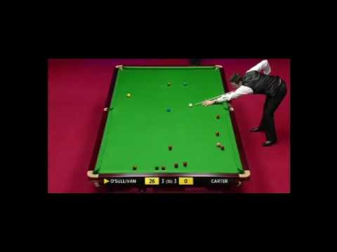 Ronnie O'Sullivan - UNBELIEVABLE BREAK - One of the best ever!! WSC 2012