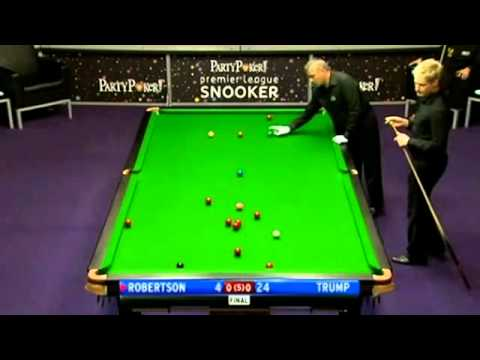 2011 Premier League Snooker - Judd Trump vs. Neil Robertson - 1 of 4