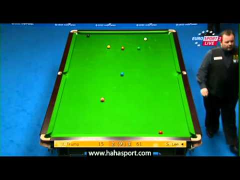 CHINA OPEN SNOOKER 2012 JUDD TRUMP vs STEPHEN LEE Frame 6 p 2