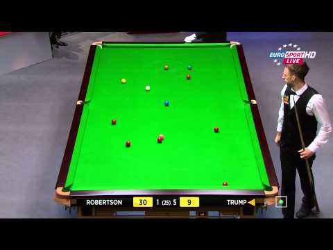 Neil Robertson - Judd Trump. 1/4F. 1/3. 1080p. 2014 World Snooker Championship