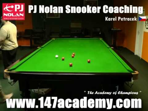 PJ NOLAN SNOOKER ACADEMY PLAYER -- KAREL PETRACEK