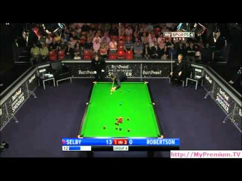 2012 Premier League Snooker - Selby vs. Robertson