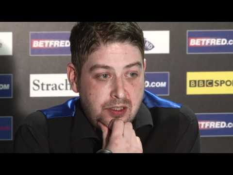 Stevens loses to Ronnie O'Sullivan at the Betfred World Snooker Championships