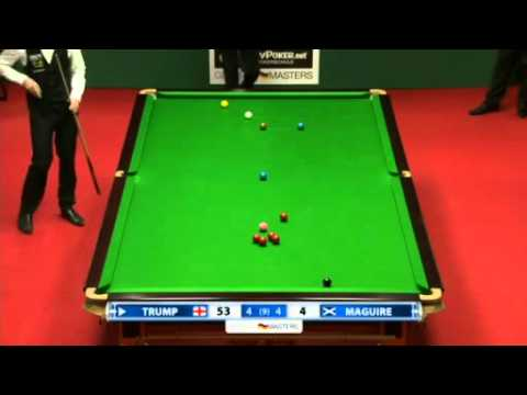 2012 Snooker German Masters QF - Trump vs Maguire DECIDING FRAME.mkv