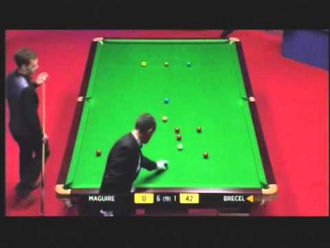 World Snooker Championship 2012 - Luca Brecel first Crucible century