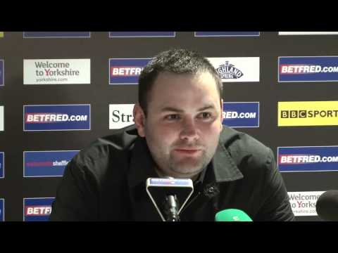 Maguire beats youngster Brecel in Betfred World Snooker Championships