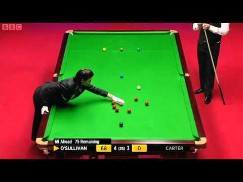 SNOOKER WORLD CHAMPIONSHIP 2012 FINAL , RONNIE O'SULLIVAN vs ALI CARTER Frame-8