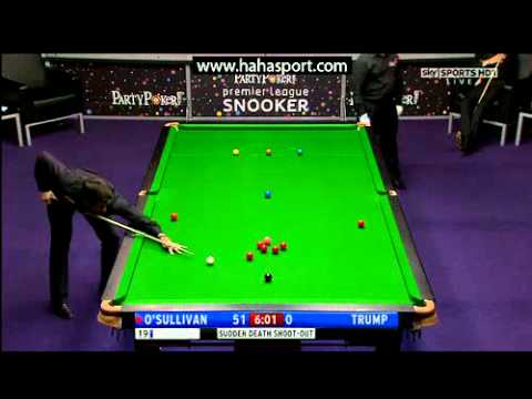2011 Premier League Snooker - Ronnie O'Sullivan vs. Judd Trump - 2 of 2