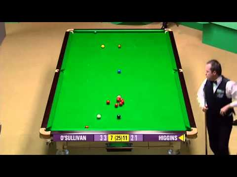 Ronnie O'Sullivan vs John Higgins [Frame 17 - 22] - Snooker World Championship QF 2007