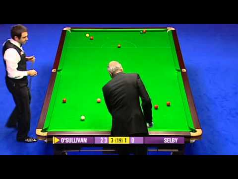 2010 Snooker Masters Final Ronnie O'Sullivan vs Mark Selby Frame 1-8
