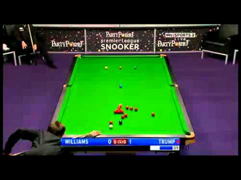 2011 Premier League Snooker - Mark Williams vs. Judd Trump - 1 of 4