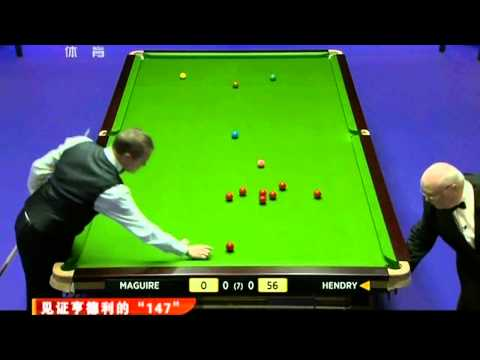[Snooker 2011-11-29 720HD] Stephen Hendry Recent 147 Maximum Break
