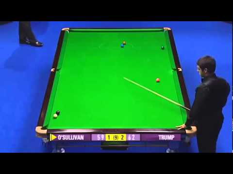 Ronnie O'Sullivan Incredible 5-Cushion Snooker Escape - 2008 Grand Prix