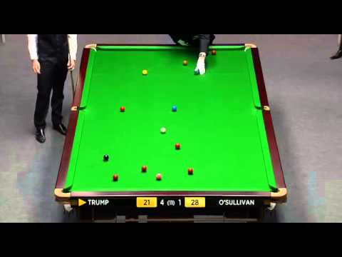 Ronnie O'Sullivan vs Judd Trump - Snooker Masters 2012