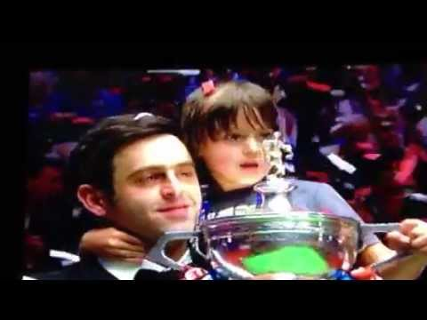 Sullivan wins world snooker champioinship 2012 Ronnie O'Sullivan Crucible alister allister carter