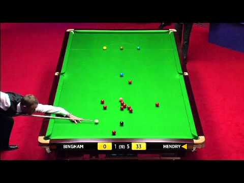 Snooker WCH 2012 - Stephen Hendry hits 147