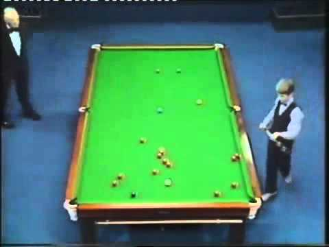 Stephen Hendry Rare Snooker Video - Age 14 - Junior Pot Black - Semi Final 1983 - Part 1