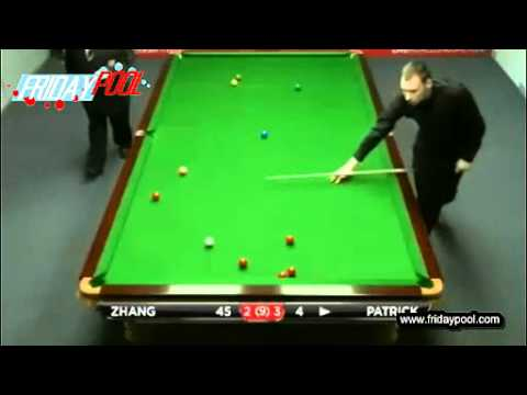 2012 Snooker Australian Goldfields Open qualifiers R1 - 張安達Zhang Anda vs Patrick Fr. 5-8