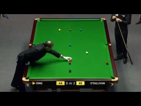 Ronnie O'Sullivan vs Ding Junhui - 2012 Snooker Masters
