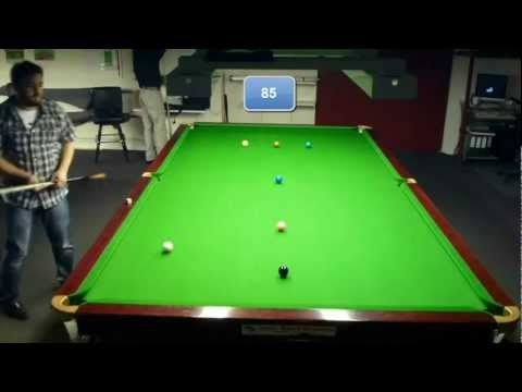 My First Youtube Snooker Century. Yay! (119 break)
