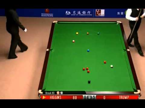 World Snooker Shanghai Masters 2012 FINAL - game 6 Higgins's AMAZING 147 break